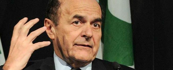 """Bersani: """"Con Verdini che vota la fiducia siamo approdati nella Casa delle libertà"""""""