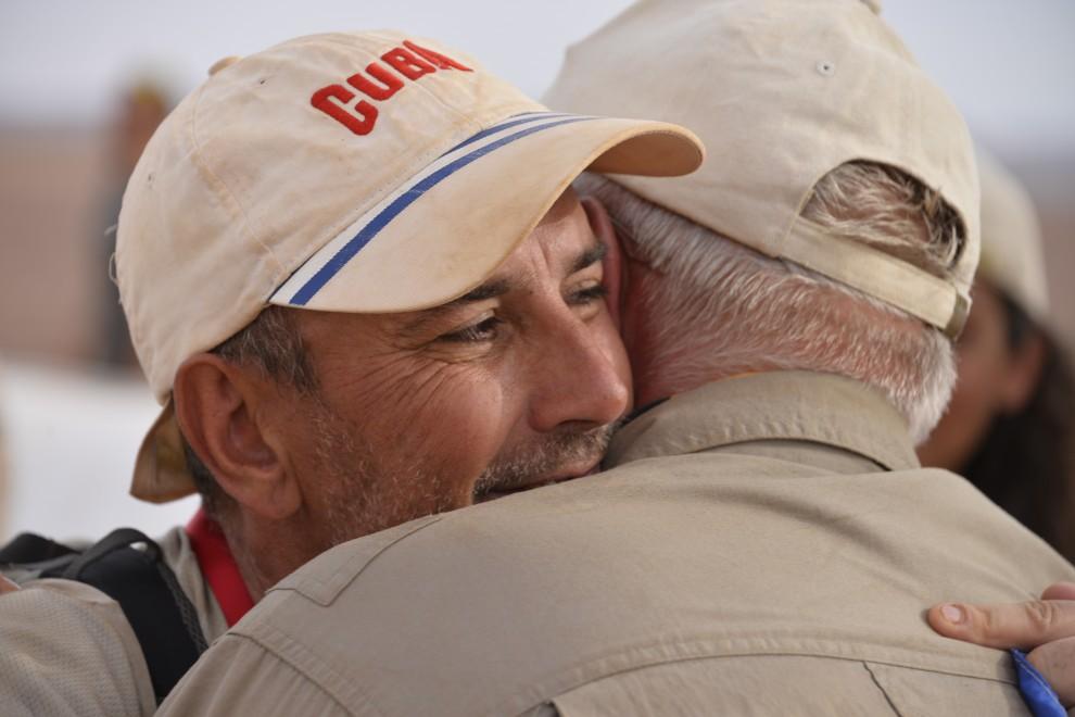 Zubani e l'amicizia nel deserto
