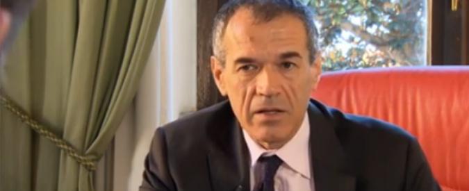 Carlo Cottarelli ospite esclusivo da Fabio Fazio: ma una deroga al contratto gli permette di partecipare a DiMartedì