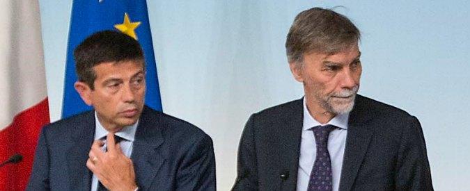 "Tangenti, Bagnasco: ""Malaffare ormai è regime"". Delrio: ""Dimissioni? Decide Lupi"""