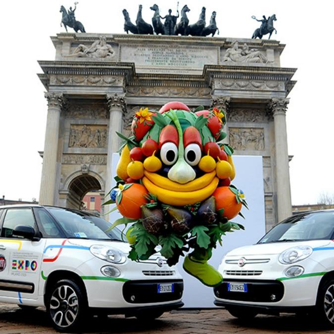 Expo 2015, FCA mette a disposizione 105 veicoli. Fra cui dieci 500 elettriche