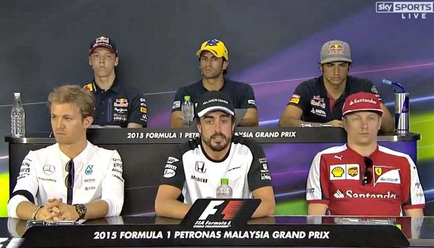 F1 press conf 26 marzo 2015