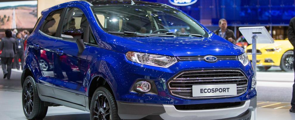 """Salone di Ginevra 2015, dopo il flop di vendite Ford """"europeizza"""" la EcoSport"""