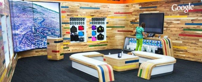 Londra, apre il primo Google Shop: esperienza totale per gli adepti di Android
