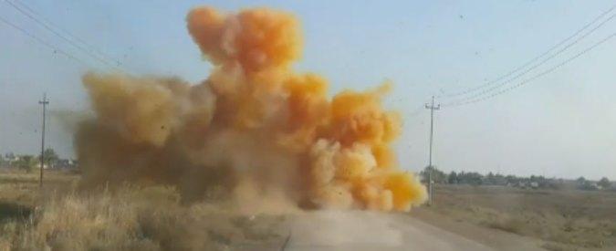 """Isis, autorità alla Bbc: """"Jihadisti usano bombe al cloro in Iraq: seminano panico"""""""