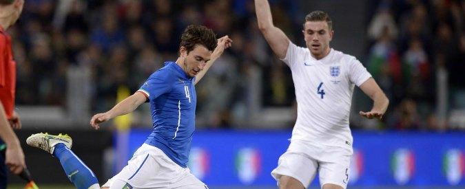 Italia-Inghilterra 1-1, la nazionale di Conte pareggia in uno stadio mezzo vuoto