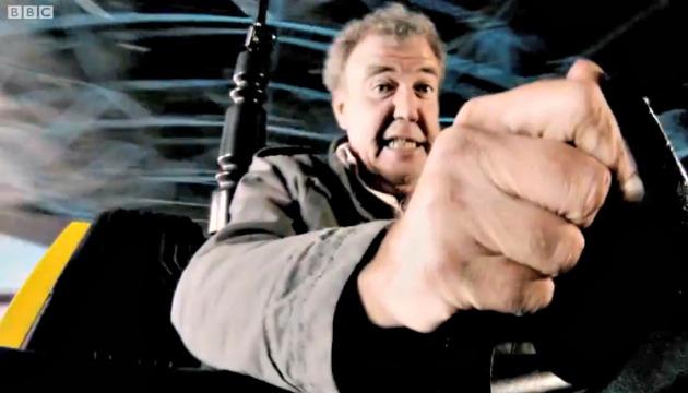 Jeremy Clarkson autoscontro