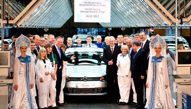 Kaluga Volkswagen 700.000 auto prodotte