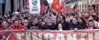 """Fiom, Landini contro il governo Renzi: """"Stanchi di spot elettorali, slide e balle"""""""