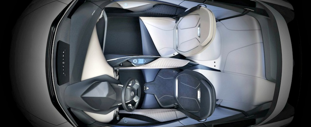 Lexus LF-SA interno