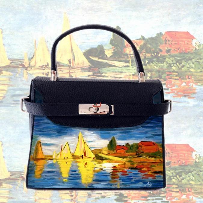 foto ufficiali e1178 53fd1 Barbara Lisanti, arrivano dal sud le borse dipinte a mano ...