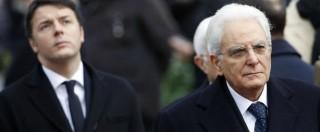 """Renzi, Firenze-Roma in elicottero: """"Motivi di sicurezza"""". Ma Mattarella usò il treno"""