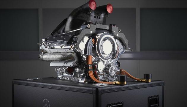 Mercedes powertrain F1