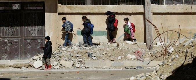 """Siria, """"dall'inizio della guerra nel 2011 oltre 240mila morti. 12mila sono minori"""""""