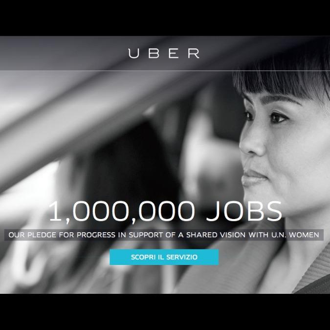 Uber per le donne, un milione di posti da driver entro il 2020