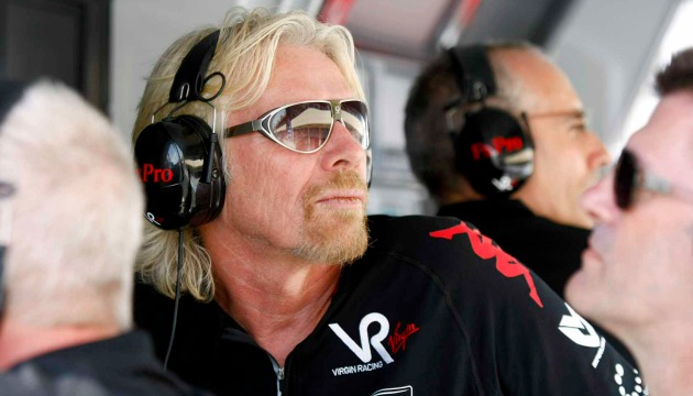 Virgin Racing Richard Branson