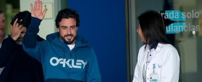 """F1, Alonso non correrà il Gp Melbourne. Barbazza: """"Presa scossa da 600 watt"""""""