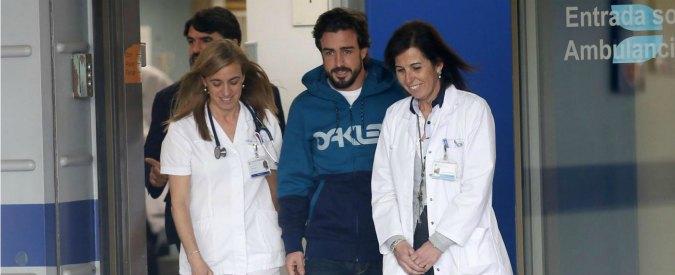 """Alonso, El Paìs: """"Ha perso la memoria per una settimana. Cancellati ultimi 20 anni"""""""