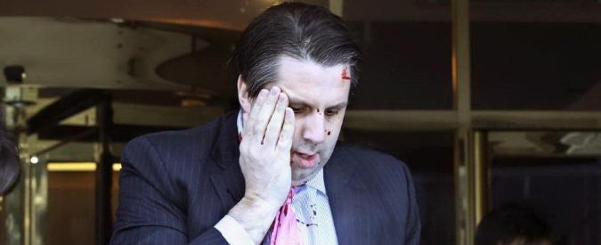 Seul, ambasciatore Usa ferito al volto con coltello da un attivista sudcoreano