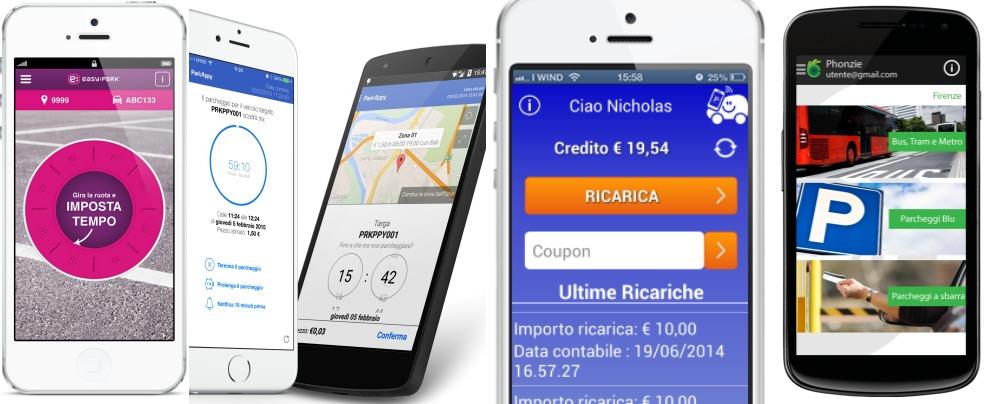 Parcheggi 2.0, se per pagare basta un'app. In mezza Italia, ma non a Milano