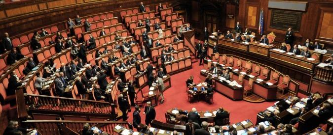 Nuovi gruppi parlamentari: al Senato resuscita l'Italia dei Valori