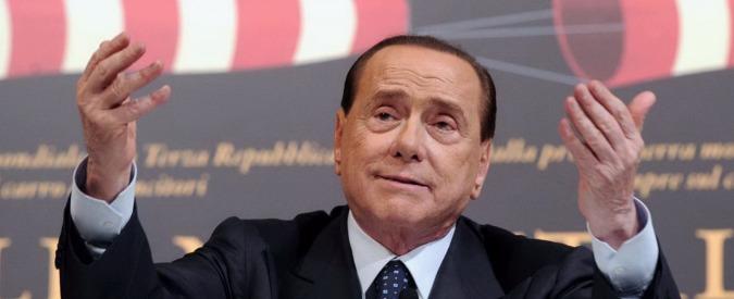 """Berlusconi alla convention di Tajani: """"Italia ultimo vagone di treno a rilento"""""""