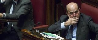 """Minoranza Pd, Bersani: """"Io fuori? Andate via voi, questo partito è casa mia"""""""