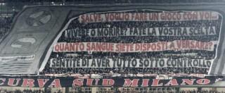 """Milan, gli ultras scrivono a Berlusconi: """"E' sicuro di amare ancora la squadra?"""""""