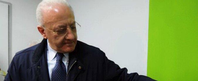 Primarie Pd, De Luca: il condannato in primo grado che sfida la Severino