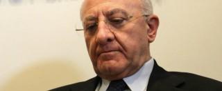 """Elezioni Regionali 2015, Vincenzo De Luca: """"In 2-3 anni basta alla Terra dei Fuochi"""""""