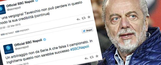 Serie A, Napoli vs arbitri. Teme lo 'scippo' della Champions – Fatto Football Club