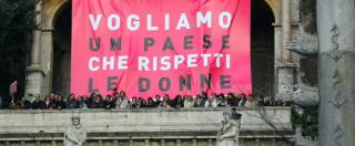 """8 marzo, Piano contro violenza donne ancora non c'è: """"Da Renzi solo annunci"""""""