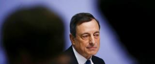 """Bce, Draghi: """"Al via il 9 marzo acquisti titoli di Stato"""". Ma non quelli della Grecia"""