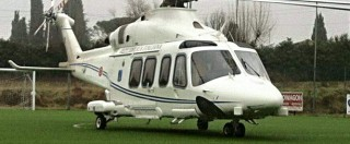 Renzi, atterraggio d'emergenza in elicottero. Ma questa volta non twitta