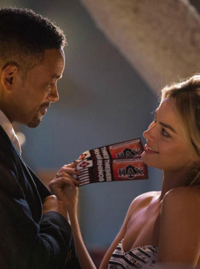 Focus – Niente è come sembra, Will Smith e Margot Robbie come Bonnie e Clyde