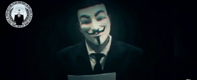 """Anonymous contro Israele: """"Olocausto elettronico per violenze su palestinesi"""""""