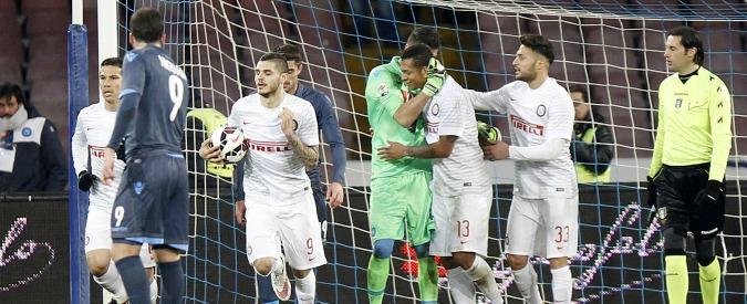 Napoli – Inter 2-2: i padroni di casa sprecano, Palacio e Icardi rimontano