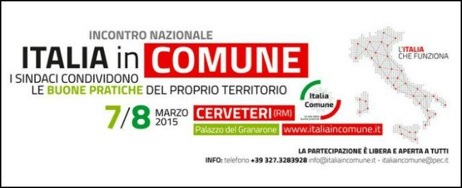 """""""Italia in Comune"""": quello che fanno le realtà virtuose, dall'ambiente alla scuola"""