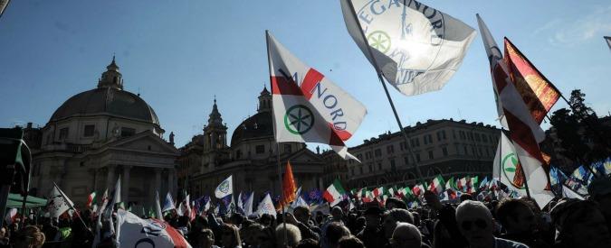 Sondaggi, Lega Nord al 15%: più 0,5 per cento dopo la manifestazione di Roma