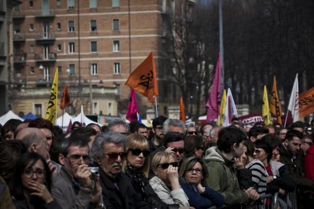 Bologna, corteo contro la mafia