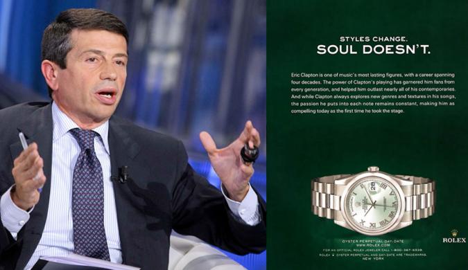 Tangenti, Rolex si difende: la sua immagine lesa dalla vicenda di Maurizio Lupi