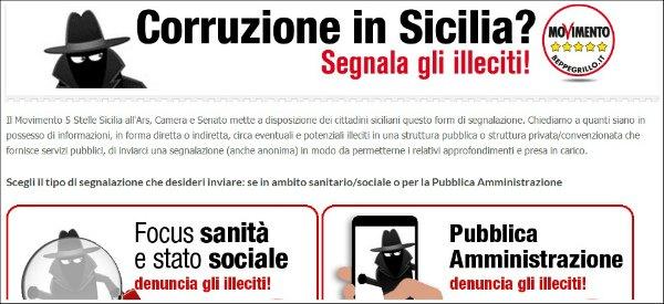 """Corruzione in Sicilia, 200 segnalazioni su sito M5S. """"Ma nessuno va dai pm"""""""