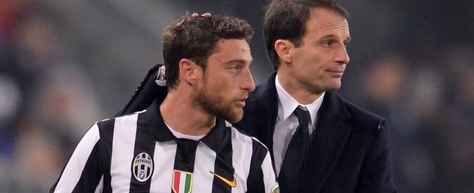 Marchisio, ginocchio ko. Polemiche sugli allenamenti duri richiesti dal ct. Conte