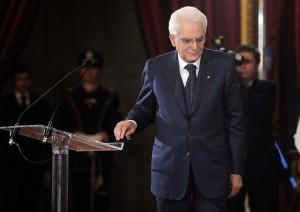 Il Presidente della Repubblica Sergio Mattarella incontra i magistrati ordinari in tirocinio