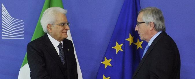 """Mattarella: """"Ue stimoli ripresa. Questione profughi si affronti in sede comunitaria"""""""