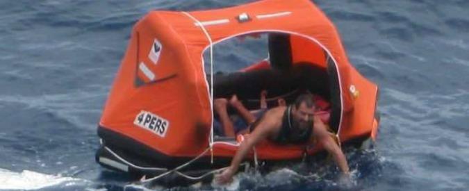 Vela, Matteo Miceli naufragato durante giro del mondo eco: recuperato da cargo