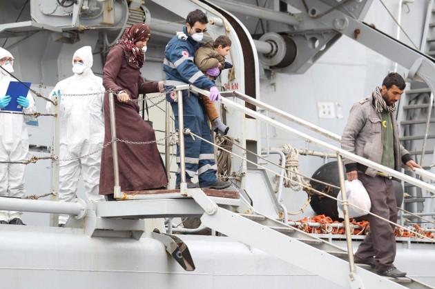 Salerno, nuovo sbarco di migranti
