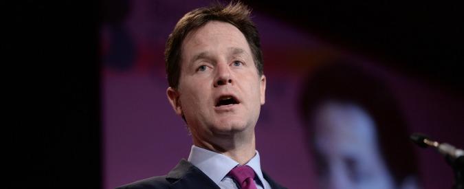 Nick Clegg vuole governare a prescindere: pronto ad allearsi con chiunque vinca
