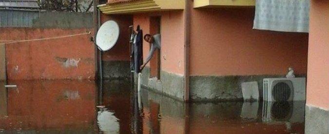 Maltempo, un morto a Roma e piogge al Sud. Allagamenti in Sardegna