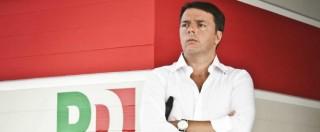 """Guerra nel Pd: minoranza contro la """"svolta liberista e plebiscitaria di Renzi"""""""